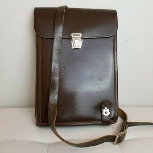 Other - Russian Army Military Officer Leather Map Satchel